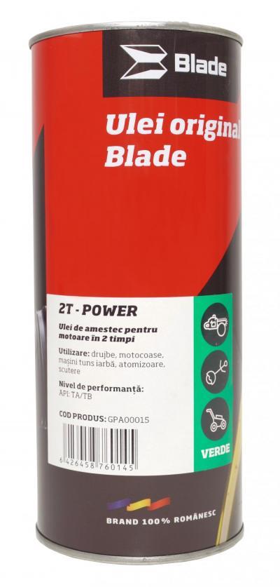 Ulei 2T - Power Verde (1litru)-BLADE