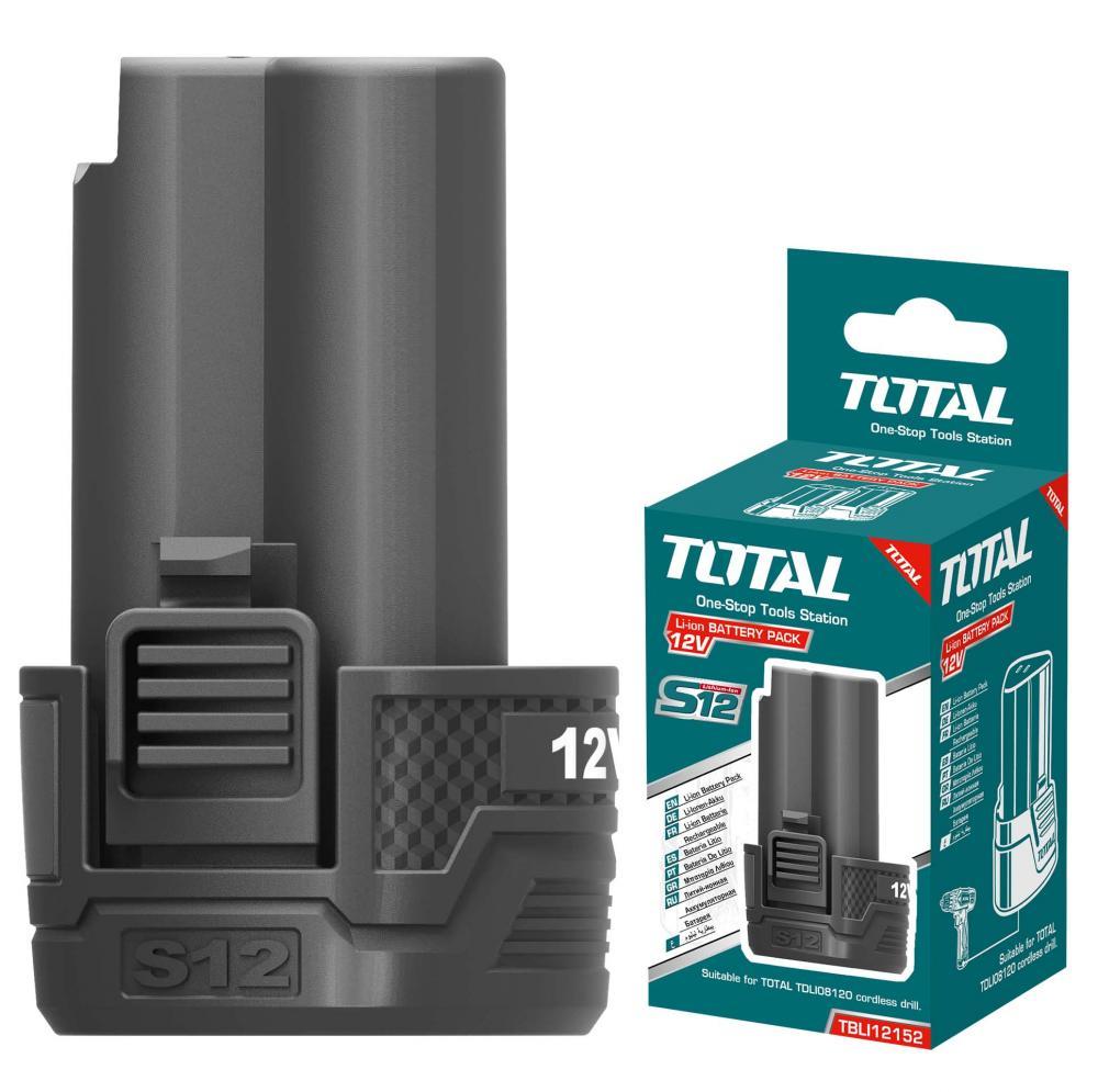 TOTAL - Acumulator 12V-1.5Ah Li-Ion - NEW