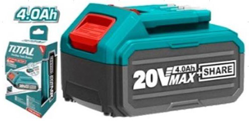 TOTAL - Acumulator 20V-4.0Ah (INDUSTRIAL)