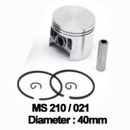 Piston complet Stihl: MS 210, 021 (40mm) -
