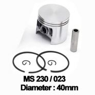 Piston complet Stihl: MS 210, 230, 021, 023, FS400 (40mm) -