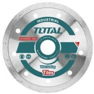 TOTAL - Disc diamantat continuu - ceramica - umed - 125mm