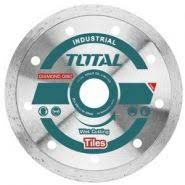TOTAL - Disc diamantat continuu - ceramica - umed - 125mm (INDUSTRIAL)