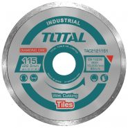 TOTAL - Disc diamantat continuu - ceramica - umed - 115mm (INDUSTRIAL)