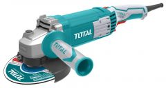 TOTAL - Polizor unghiular - 125mm - 1500W (INDUSTRIAL)